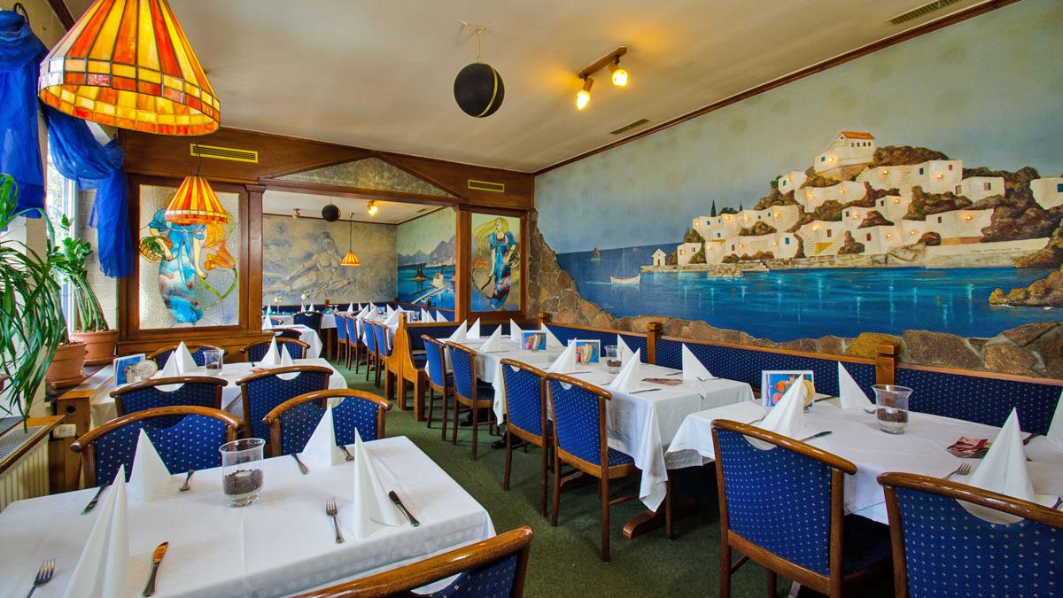 Das griechisches Restaurant Achilles in Hannover