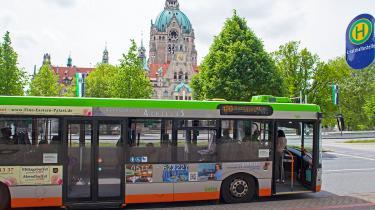 Buswerbung für griechisches Restaurant in Hannover (Bus-Werbung_1402.jpg)